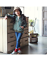 Girl's Casual/Daily Solid Suit & BlazerOthers Summer / Spring Green