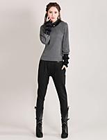 Our Story Women's Striped Black Harem PantsStreet chic Spring / Fall