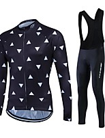 Esportivo Moto/CiclismoCalças / Moletom / Jaquetas em Velocino / Lã / Camisa/Fietsshirt / Meia-calça / Tights Bib / Blusas / Conjuntos de