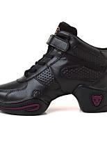 Non Customizable Women's Dance Shoes Dance Sneakers Fabric Low Heel