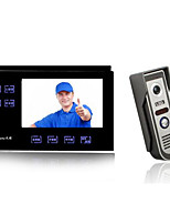 TK-790DV816C Video Doorbell 7 Inch Touch Button With Camera Function