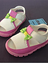 Girl's Sandals Summer PVC Casual Flat Heel Others Yellow Pink Others