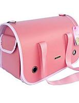 Cat / Dog Carrier & Travel Backpack / Sling Bag Pet Carrier Portable / Breathable Pink Leather