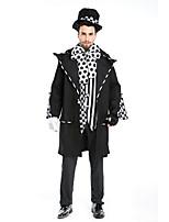 Costumes Plus de costumes Halloween Noir Couleur Pleine Térylène Manteau / Haut / Pantalon / Plus d'accessoires