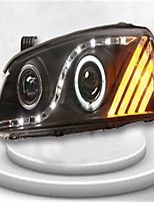 For Hyundai elantra modified xenon headlamps assembly