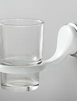 Soporte para Cepillo de Dientes / Gadget para Baño / Pulido en Espejo / Montura en Pared /3.9*3.9*5.9 inch /Latón / Aleación de Zinc /