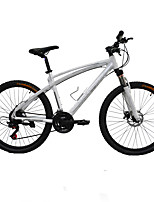 Mountain Bike Cycling 24 Speed 50mm Men's 24 Double Disc Brake Suspension Fork Aluminium Alloy Frame