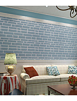 3D Wallpaper For Home Contemporary Wall Covering  Non-woven fabric Material Adhesive required
