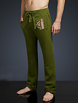 LOVEBANANA Men's Active Pants Green-34083