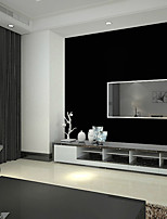 Black Wall Paper Roll Silk Embossed Solid Color Wallpapers Modern For Living Room Paper Background Wallpaper