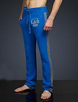 LOVEBANANA® Masculino Activo Calças Azul-36006