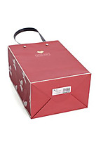 Two Burgundy Large 24Cm * 13Cm * 31Cm Gift Wrapping Paper Bags Per Pack