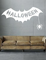 AYA DIY Wall Stickers Wall Decals Halloween Decoration Mouth Type PVC Panel Wall Stickers 37*65cm