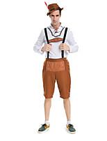 Costumes Plus de costumes Halloween / Fête d'Octobre Blanc / Fuschia Couleur Pleine Térylène Haut / Pantalon / Plus d'accessoires