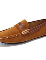 Men's Flats Comfort / Round Toe / Closed Toe / Flats Casual Flat Heel Others Black / Blue / Brown