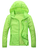 Hiking Tops Unisex Waterproof / Breathable / Ultraviolet Resistant / Quick Dry / Wearable / Windproof / SunscreenSpring