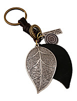 Key Chain / Key Chain Black Metal / PU Leather
