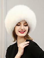 Women Faux Fur Ski Hat Vintage / Cute / Casual Winter