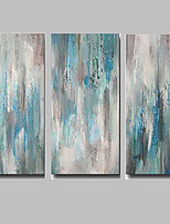 IARTS Blue Art Wall Decor Handmade Paintings Acrylic Designs Abstract Painting Canvas