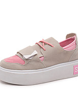 Women's Flats Spring / Summer / Fall / Winter Round Toe PU Outdoor / Office & Career / Casual Flat Heel Others