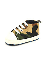 Unisex Sneakers Fall Comfort Canvas Casual Flat Heel Others Blue Green Red Others