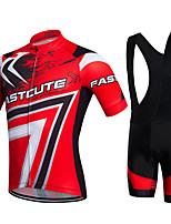 Sport Fahhrad/RadsportBib - Shorts/Kurze radhose MIT Trägern / Sweatshirt / Trikot/Radtrikot / Trikot + Shorts/Radtrikot+Kurze Radhose /