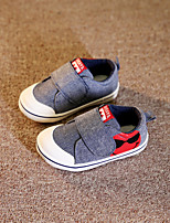 Unisex Flats Spring Fall Canvas Casual Flat Heel Others Red Gray Other