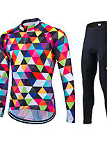 Spring Autumn Long Sleeve Race Uniform Cycling Jersey Breathable Bicycle Sportswear Clothes Ropa Ciclismo