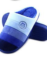 Unisex-Slippers & Flip-Flops-Lässig-maßgeschneiderte Werkstoffe-Flacher Absatz-Pantoffeln-Blau / Braun / Rosa / Rot