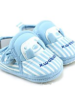 Unisex Loafers & Slip-Ons Fall Crib Shoes Cotton Casual Flat Heel Blue Walking
