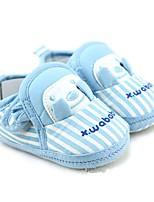 Unisex-Loafers & Slip-Ons-Lässig-Baumwolle-Flacher Absatz-Kinderbett Schuhe-Blau