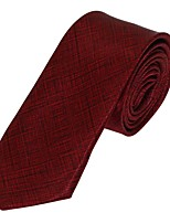 Men Leisure Jacquard Necktie Tie Polyester Silk