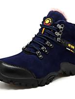 Atletické boty-PU-Pohodlné-Pánské-Černá Žlutá Khaki-Outdoor-Plochá podrážka