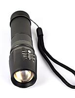 5-mode 2000lm T6 XML levou foco zoomable lâmpada lanterna lanterna ajustável