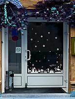 Fenster-Aufkleber-Zeitgenössisch-Art Deco