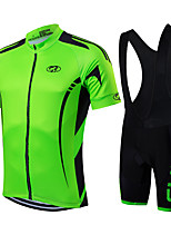 Sports Bike/Cycling Clothing Sets/Suits Men's / Unisex Short Sleeve Breathable / Quick Dry / Front Zipper / Wearable