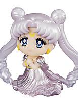 Sailor Moon Princess Serenity PVC 6cm Anime Action Figures Model Toys Doll Toy 1pc