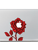1 Pça. Resistente a Riscos Flor De Plástico Transparente Adesivo Estampa ParaMacBook Pro 15'' with Retina MacBook Pro 15 '' MacBook Pro
