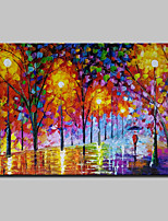 Hand Painted Landscape Oil Paintings On Canvas Wall Art Picture For Home Decoration With Stretched Frame Ready To Hang