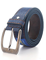Men Denim Waist BeltWork / Casual Alloy All Seasons