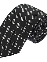 Wedding Party Men Casual Polyester Silk Neck Tie