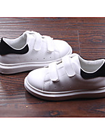 Boy's Flats Spring / Fall Flats Leatherette Athletic Flat Heel Others White Sneaker