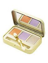 3 Palette de Fard à Paupières Sec Fard à paupières palette Poudre Normal Maquillage Quotidien