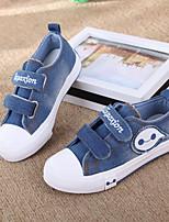 Jungen-Flache Schuhe-Sportlich-Leinwand-Flacher Absatz-Schieber-Blau
