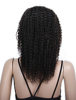 Glueless Afro Kinky Curly Lace Front Wigs for Black Women Malaysian Human Hair Lace Wigs instock 14-18inch