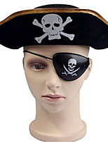 Halloween Costume Party Props Pirate Party Supplies Pirate Eye Patch Eye Mask Child Toy Cosplay Decoration(1pcs)