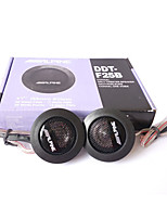 High Efficiency Car Audio Speaker 1Pair Car Mini Dome Tweeter Loudspeaker Alpine Super Audio Auto Sound Car Tweeters
