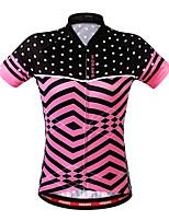 Wosawe® Cycling Jersey Women's Short Sleeve Bike Breathable / Back Pocket / Sweat-wicking Sweatshirt / Jersey Polyester Classic Summer