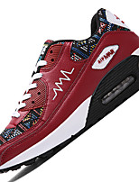 Men's Athletic Shoes Spring / Fall Comfort PU / Tulle Outdoor / Athletic / Casual Black / Blue / Red / WhiteWalking /