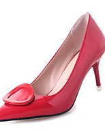 Women's Heels Summer Heels PU Casual Stiletto Heel Others Black / Green / Red / Gray Others